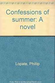 Confessions of SummerLopate, Phillip - Product Image