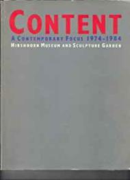 Content: A Contemporary Focus 1974-1984Hishhorn Museum and Sculpture Garden - Product Image