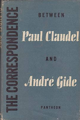 Correspondence Between Paul Claudel and Andre Gide 1899-1926, TheRussell (transl.), John  - Product Image