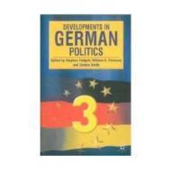Developments in German PoliticsPadgett, Stephen - Product Image