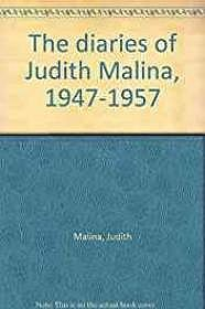 Diaries of Judith Malina, 1947-1957, TheMalina, Judith - Product Image