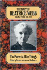 "Diary of Beatrice Webb, Volume III: The Power to Alter Things,"" 1905-1924Webb, Beatrice - Product Image"