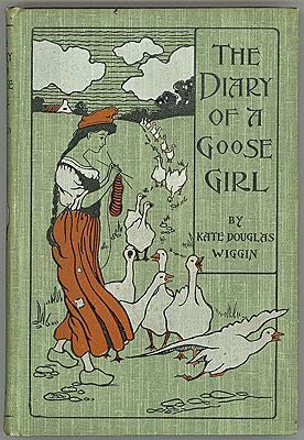 Diary of a Goose Girl, TheWiggin, Kate Douglas, Illust. by: Claude A. Shepperson - Product Image
