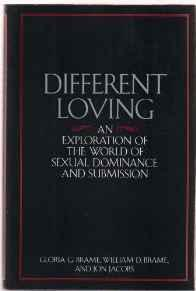 Different Loving: An Exploration of the World of Sexual Dominance and SubmissionBrame, William - Product Image