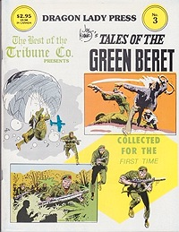 Dragon Lady Press: The Best of the Tribune Co. - No. 3: Tales of the Green BeretKubert, Joe, Illust. by: Joe  Kubert - Product Image