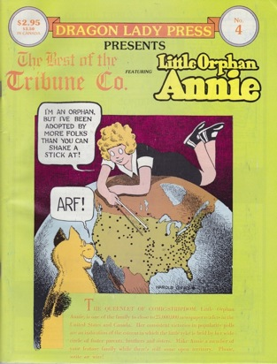 Dragon Lady Press: The Best of the Tribune Co. - No. 4: Little Orphan Annie Gray, Harold, Illust. by: Harold  Gray - Product Image