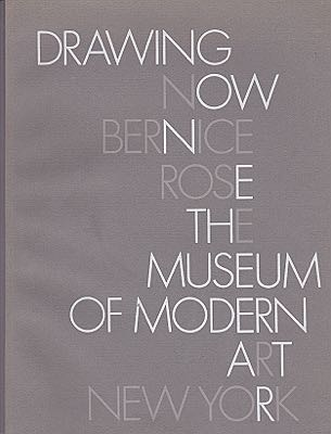 Drawing Now: Bernice RoseThe Museum of Modern Art - Product Image
