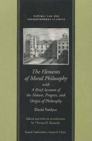 ELEMENTS OF MORAL PHILOSOPHY, THEFORDYCE, DAVID - Product Image