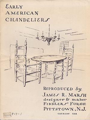 Early American ChandeliersMarsh, James R., Illust. by: James R.  Marsh - Product Image