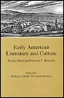 Early American Literature and Culture: Essays Honoring Harrison T. MeseroleDerounian-Stodola, Kathryn Zabelle (Editor) - Product Image