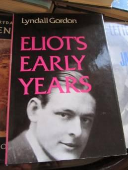 Eliot's Early YearsGordon, Lyndall - Product Image