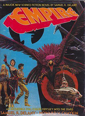 EmpireDelany, Samuel R. , Illust. by: Howard V.  Chaykin - Product Image