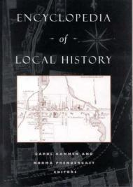 Encyclopedia of Local HistoryPrendergast, Norma (Editor) - Product Image
