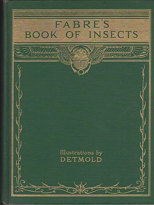 Fabre's Book of InsectsFabre, Jean Henri, Illust. by: E.J.  Detmold - Product Image