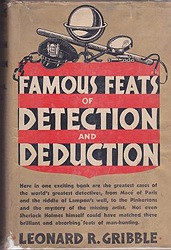 Famous Feats of Detection and DeductionGribble, Leonard R. - Product Image