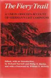 Fiery Trail, The: A Union Officer's Account of Sherman's Last CampaignsOsborn, Thomas Ward - Product Image