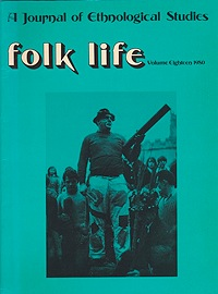 Folk Life: A Journal of Ethnological Studies: Volume EighteenLinnard (Ed.), William - Product Image