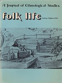 Folk Life: A Journal of Ethnological Studies: Volume ThirteenJenkins (Ed.), J. Geraint - Product Image