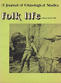 Folk Life: A Journal of Ethnological Studies: Volume TwelveJenkins (Ed.), J. Geraint - Product Image
