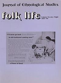 Folk Life: A Journal of Ethnological Studies: Volume Twenty-EightLinnard (Ed.), William - Product Image