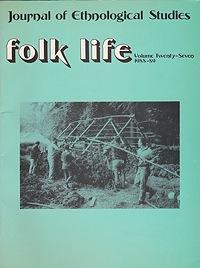 Folk Life: A Journal of Ethnological Studies: Volume Twenty-SevenLinnard (Ed.), William - Product Image