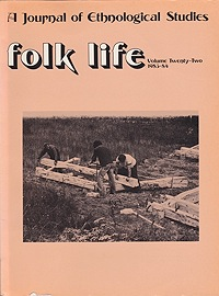 Folk Life: A Journal of Ethnological Studies: Volume Twenty-TwoLinnard (Ed.), William - Product Image