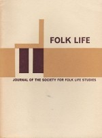 Folk Life: Journal of the Society for Folk Life Studies -  Volume 9by: Jenkins (Ed.), J. Geraint - Product Image
