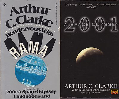 Fountains of Paradise, Childhood's End, 2001: A Space Odyssey,Rendezvous With Rama (4 paperback novels)Clarke, Arthur C. - Product Image