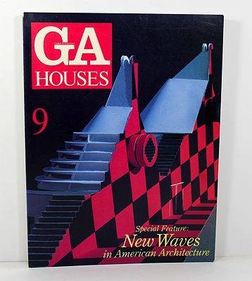GA Houses 9 (English Text) (Japanese Text)Uyeda (Editor), Makoto/Masaaki Sekiya & Wayne N. T. Fujii - Product Image