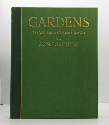 Gardens: A Note-book of Plans and SketchesForestier, J.C.N. - Product Image