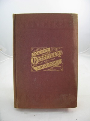 Gazetteer and Business Directory of Franklin and Grand Isle Counties, VT for 1882-83.Child (Compiled), Hamilton - Product Image