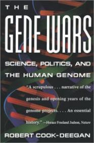 Gene Wars, The: Science, Politics, and the Human GenomeCook-Deegan, Robert - Product Image