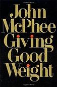 Giving Good WeightMcPhee, John - Product Image