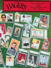 Hager's Comprehensive Price Guide to Rare Baseball Cards 1886 to Present of 5No Author - Product Image