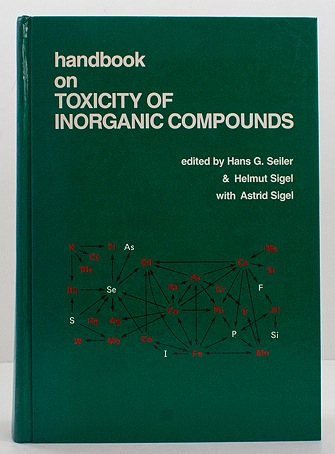 Handbook on Toxicity of Inorganic CompoundsSeiler, Hans G., others - Product Image