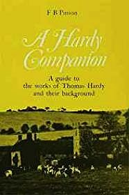 Hardy Companion, A: A Guide to the Works of Thomas HardyPinion, F. B. - Product Image