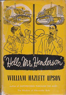 Hello, Mr. HendersonUpson, William Hazlett - Product Image