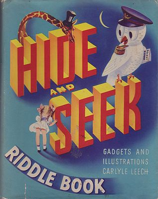 Hide and Seek Riddle BookLeech, Carlyle and John McKenna - Product Image
