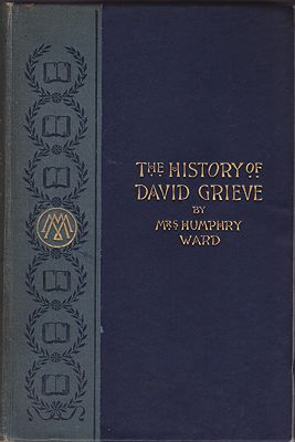History of David Grieve, TheWard, Mrs. Humphry - Product Image
