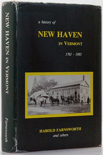 History of New Haven in Vermont 1761-1983, AFarnsworth, Harold and others - Product Image