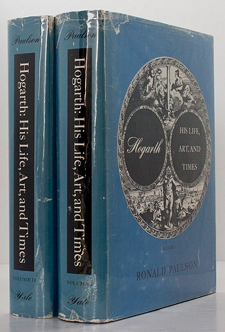 Hogarth: His Life, Art, and Times - Volume I & IIPaulson, Ronald - Product Image
