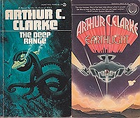 Imperial Earth, The Deep Range, The Lost Worlds of 2001, Earthlight  (4 paperback novels)Clarke, Arthur C. - Product Image