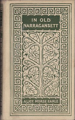 In Old NarragansettEarle, Alice Morse - Product Image
