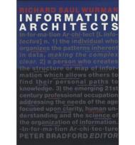 Information ArchitectsWurman, Richard Saul - Product Image