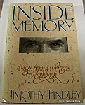 Inside memory: Pages from a writer's workbookFindley, Timothy - Product Image