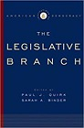 Institutions of American Democracy: The Legislative BranchQuirk, Paul J. (Editor) - Product Image