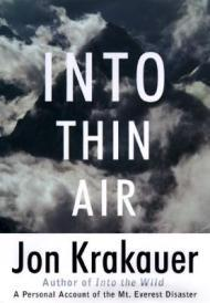 Into Thin Air: A Personal Account of the Mount Everest DisasterKrakauer, Jon - Product Image