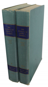 Journal of Henry D. Thoreau (Two Volume Set)Thoreau, Henry D./Bradford Torrey & Francis H. Allen (Editors) - Product Image