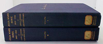 Julia Ward Howe 1819-1910 - 2 VolumesRichards, Laura E./Maud Howe Elliott/Florence Howe Hall - Product Image