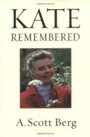 Kate RememberedBerg, A. Scott - Product Image